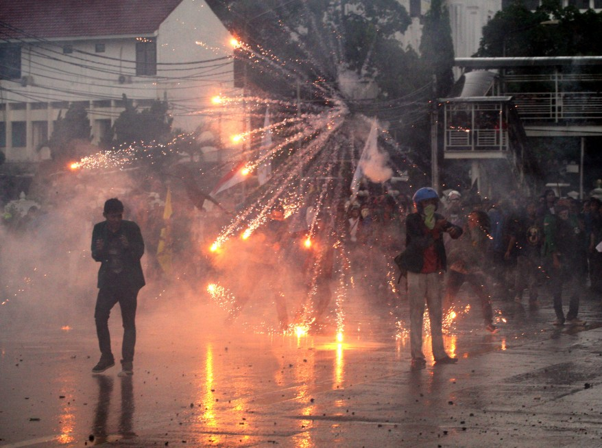 """Indonesia Fuel Hike Protests"""