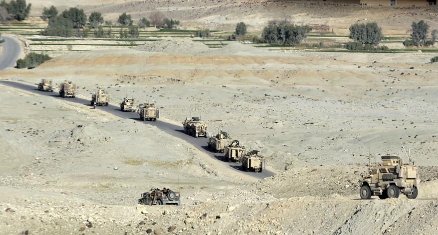 """Afghanistan US Convoy"""