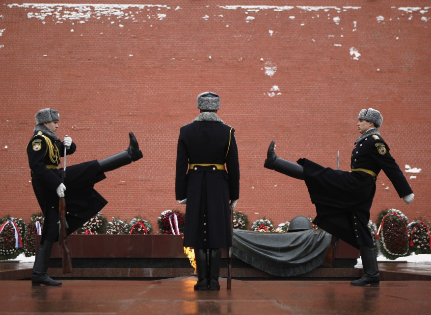 """Russia Tomb of Unknown Soldier"""
