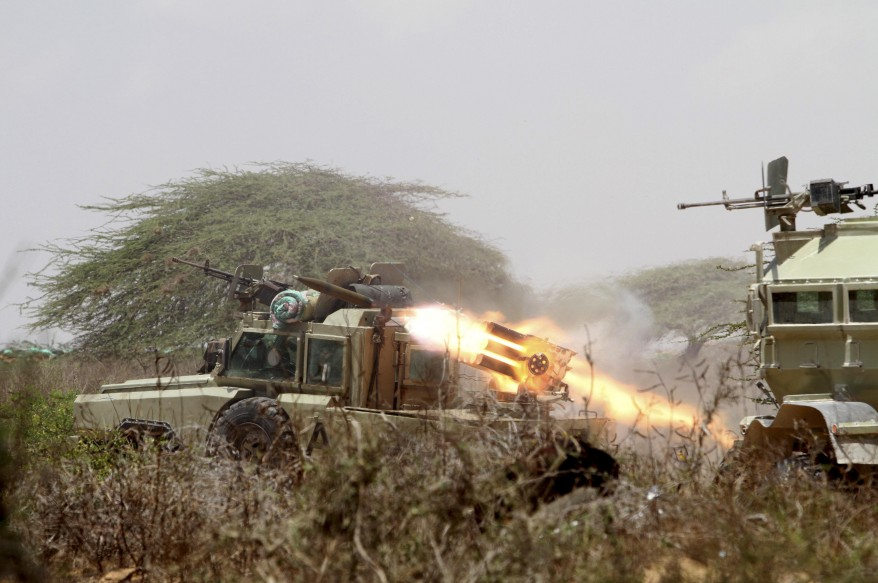 """Somalia Fighting"""