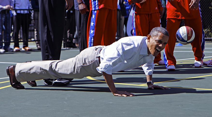 US Obama Easter