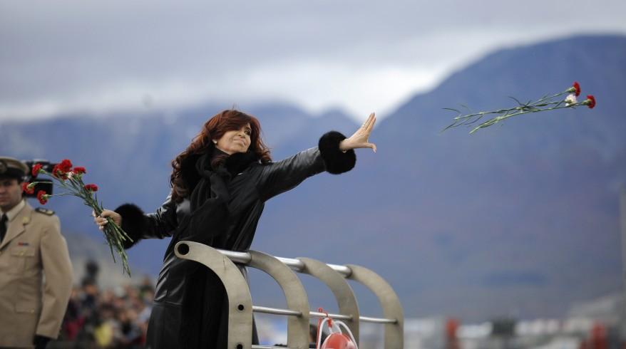 Argentina Falklands Kirchner