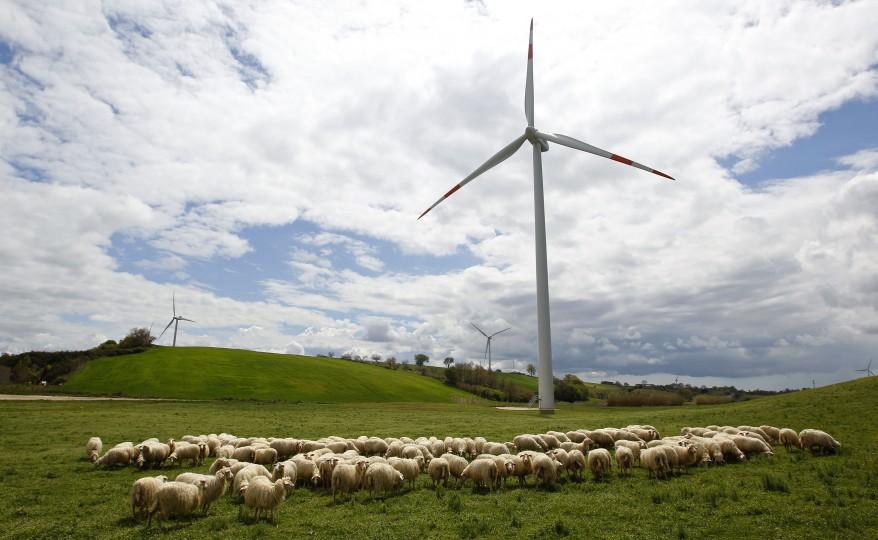 Italy Wind Turbines