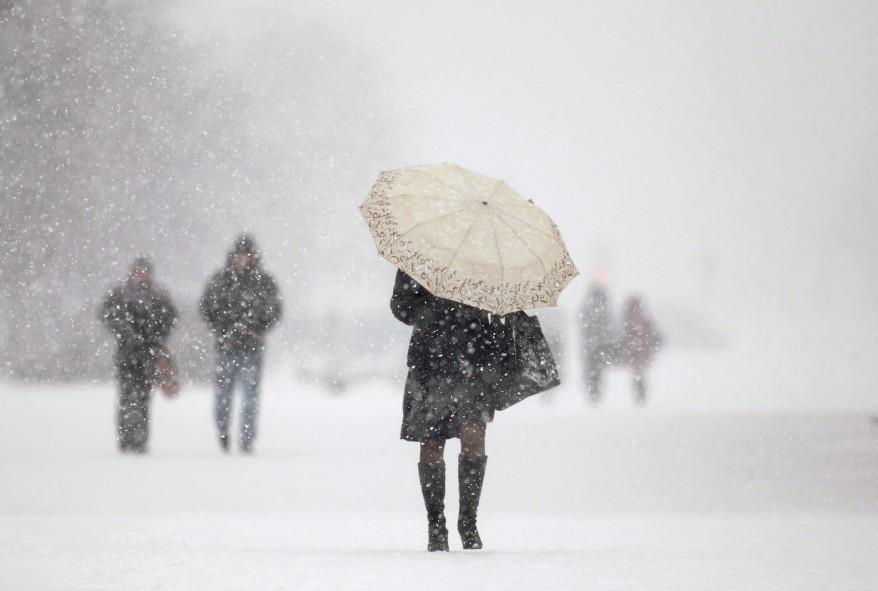 Minsk Belarus Snow