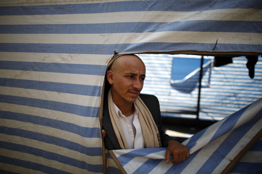Yemen Protest Camp