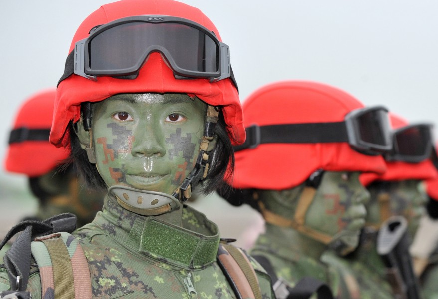 """Taiwan Military Drill"""