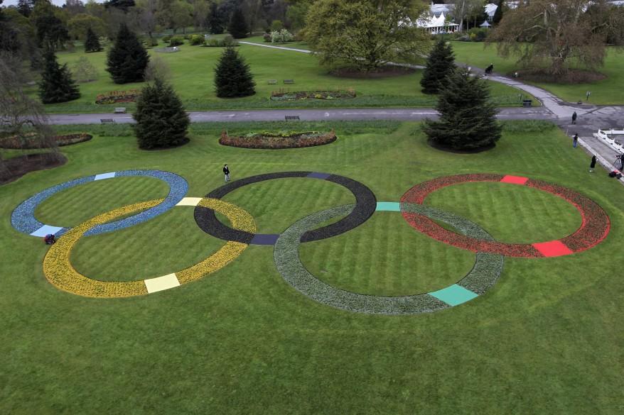 """Britain London 2012 Olympics 100 Days"""