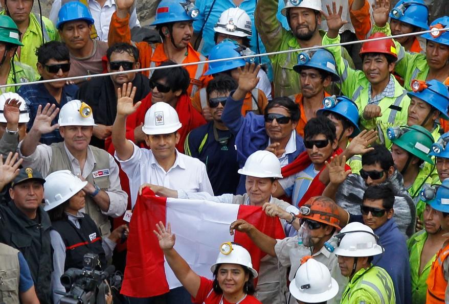 """""""Peru Trapped Miners"""""""