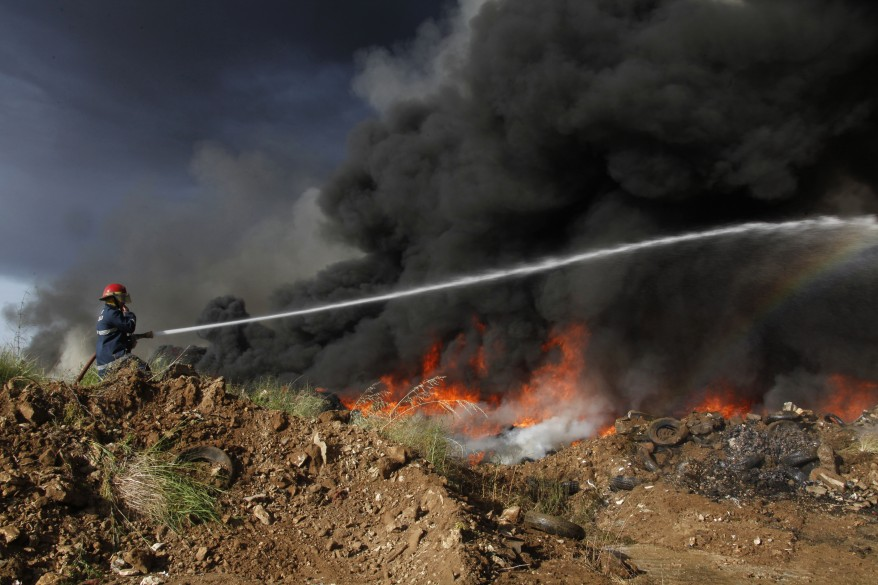"""Lebanon Fire"""