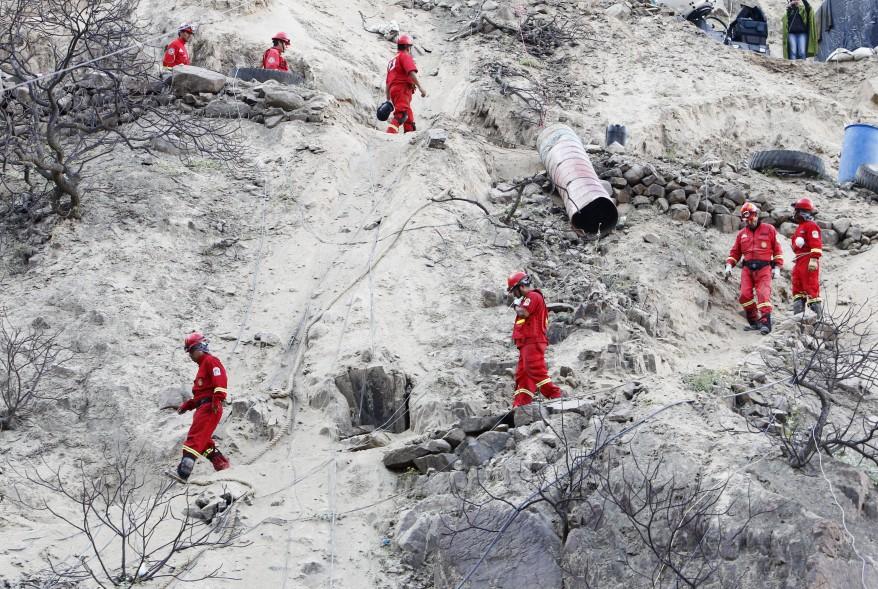 """""""Peru Miners Rescue"""""""