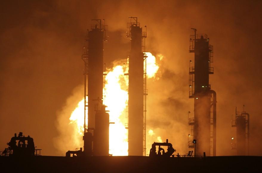 """Taiwan Oil Fire"""