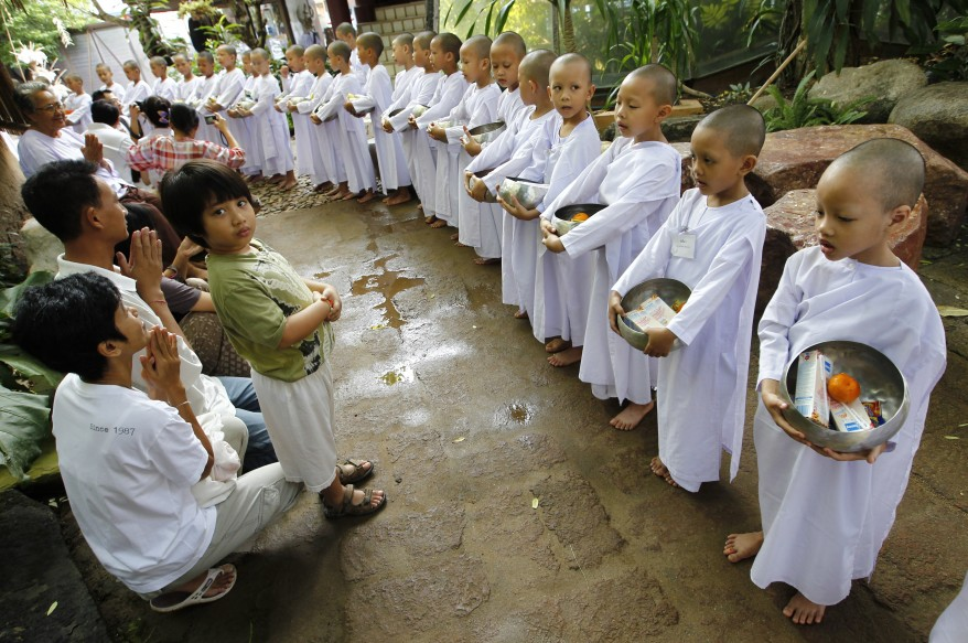 """Thailand Nuns"""