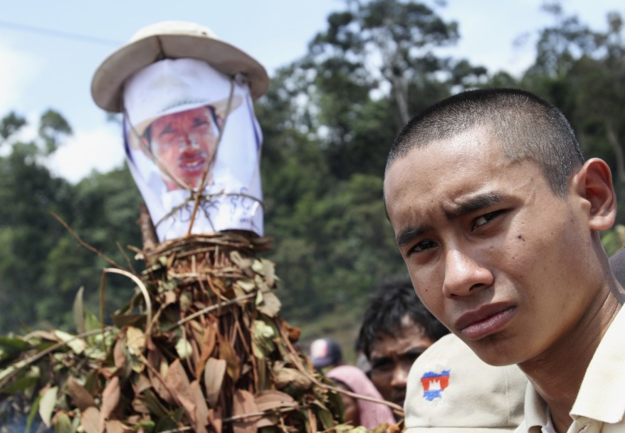 Cambodia Logging Activist