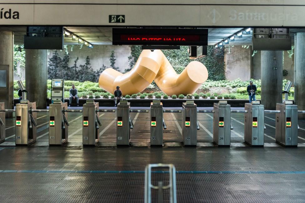 Brazil Metro Strike