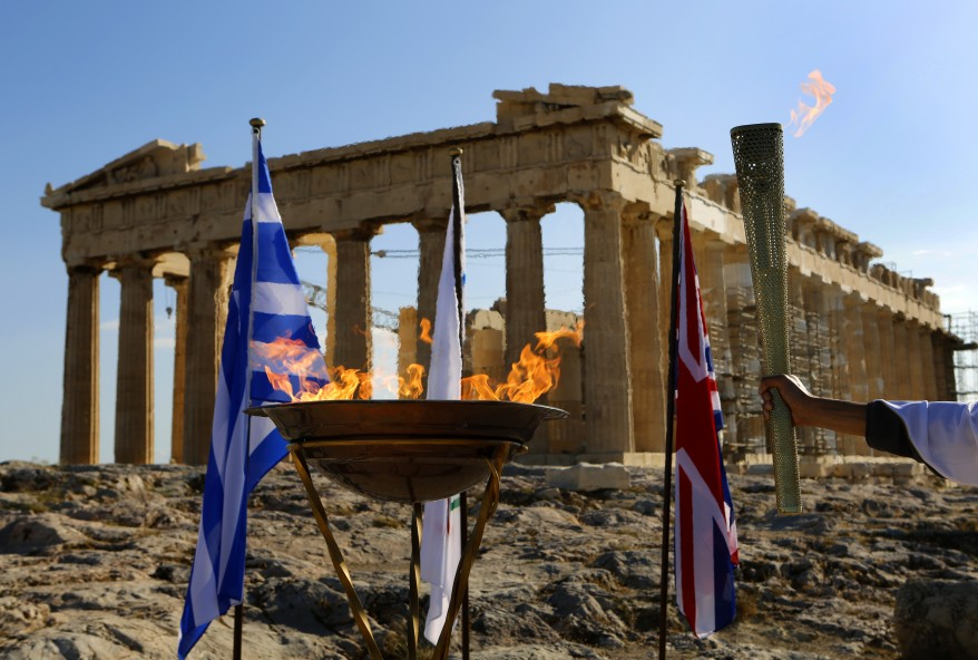 """Greece Olympic Flame"""