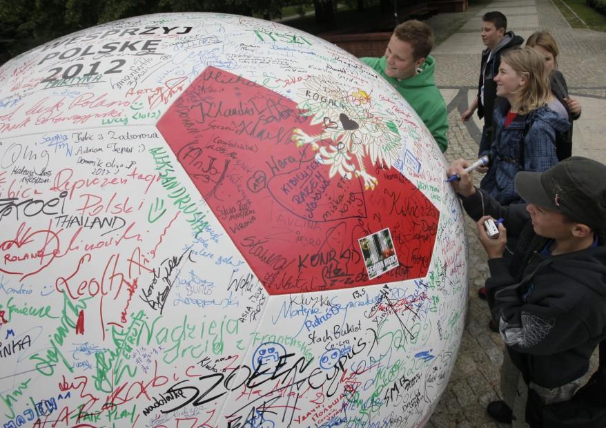 """""""Poland Soccer Euro 2012"""""""