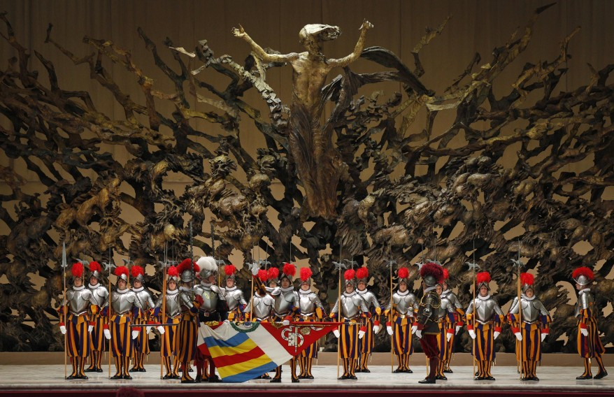 """Vatican Swiss Guards"""