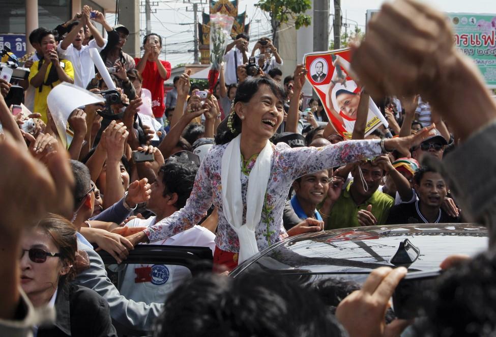 Burma Thailand Aung San Suu Kyi
