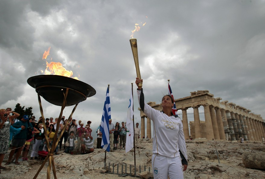 """Greece Olympic Torch"""