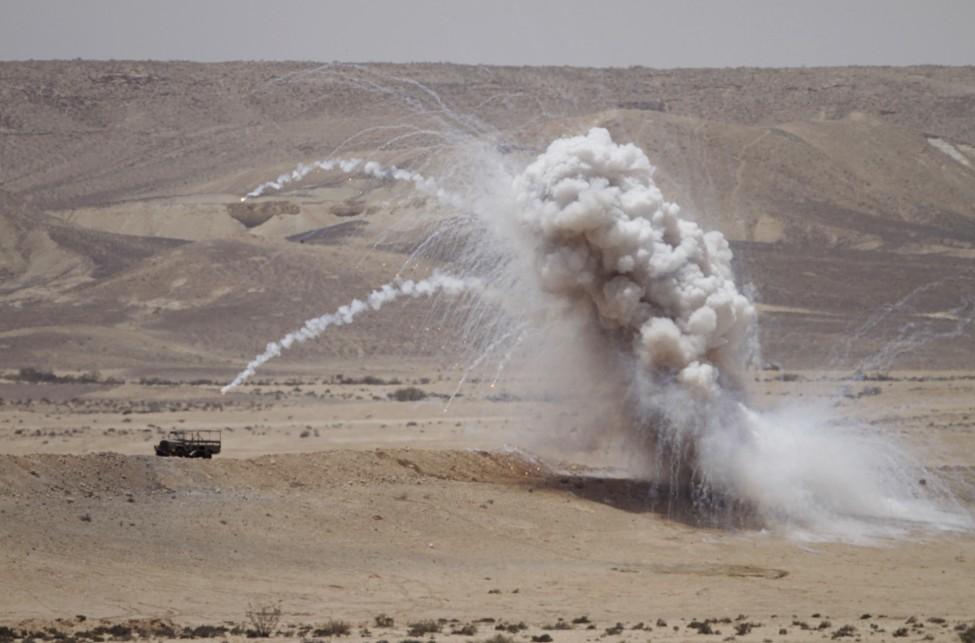 Israel military test