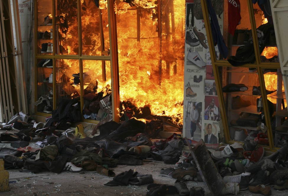 Kenya Explosion