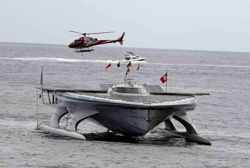 """""""Monaco Solar Ship"""""""
