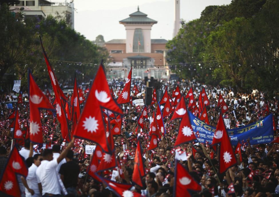 Nepal Demonstration