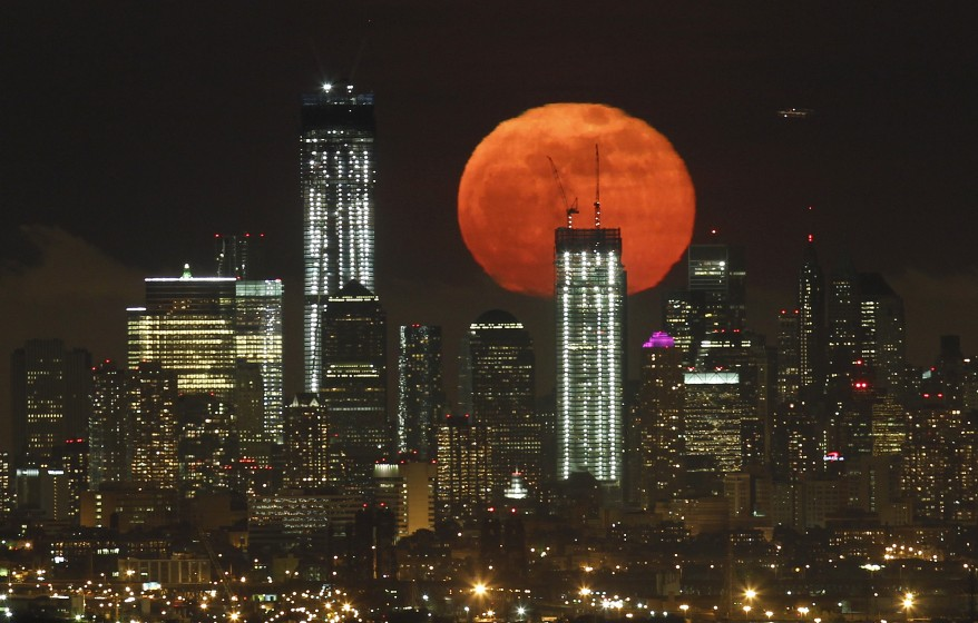 """New York Full Moon"""