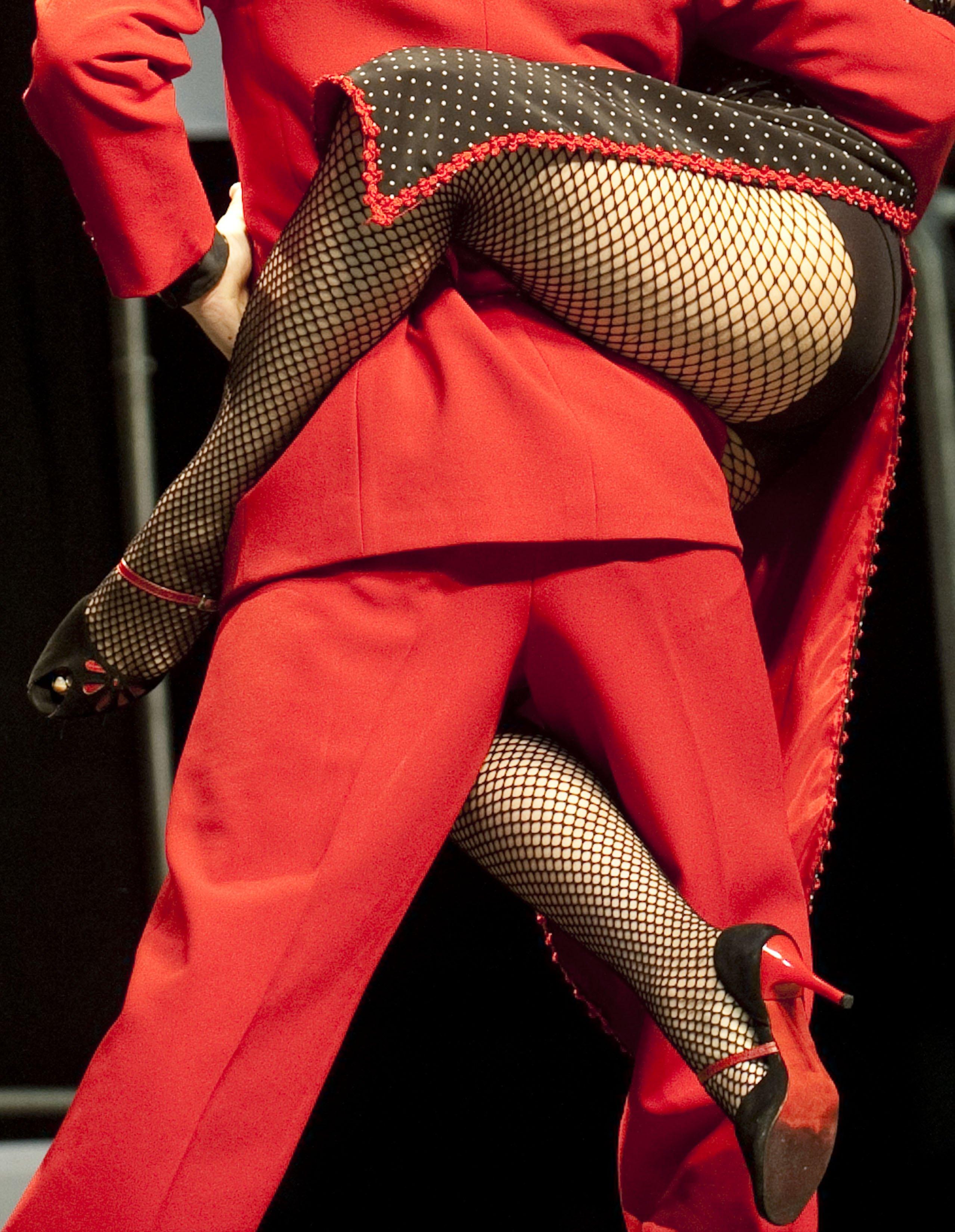 Colombian tango dancers Alejandra Sanchez R and Alex