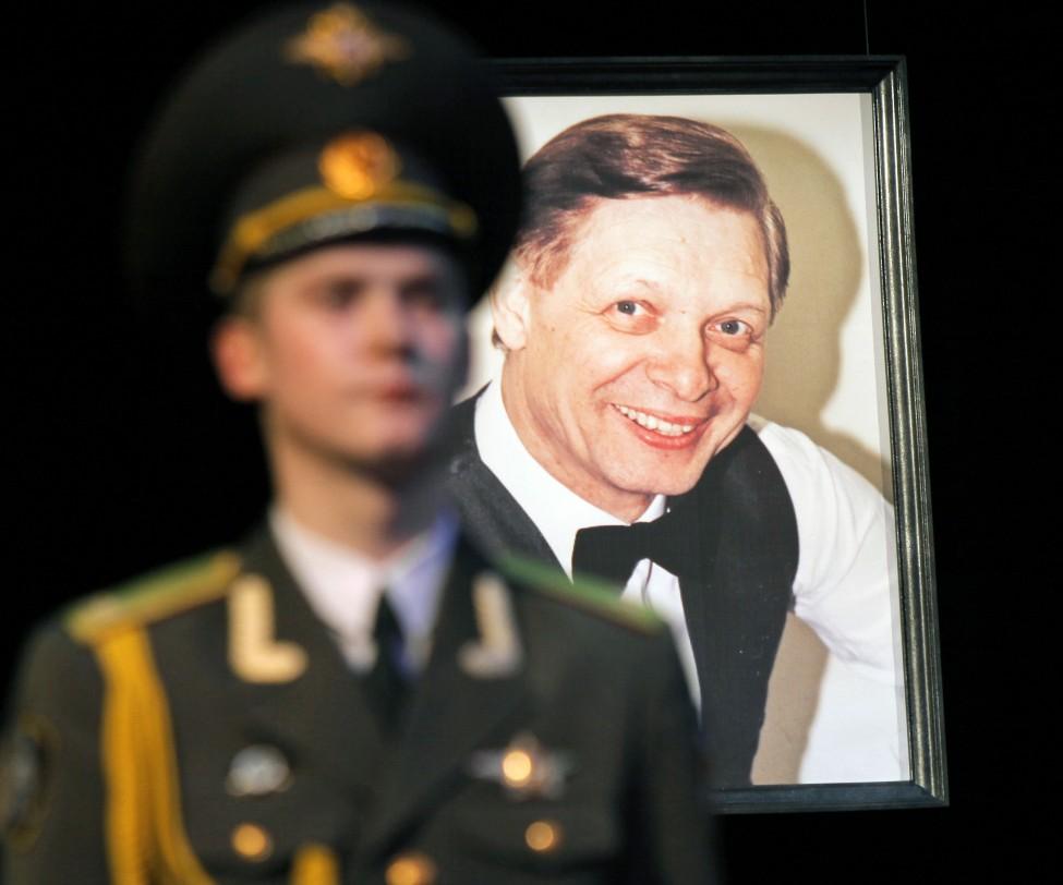 Eduard Khil Funeral