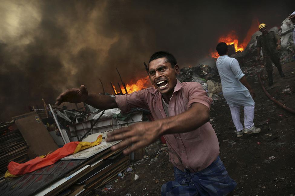 India Shanty Fire