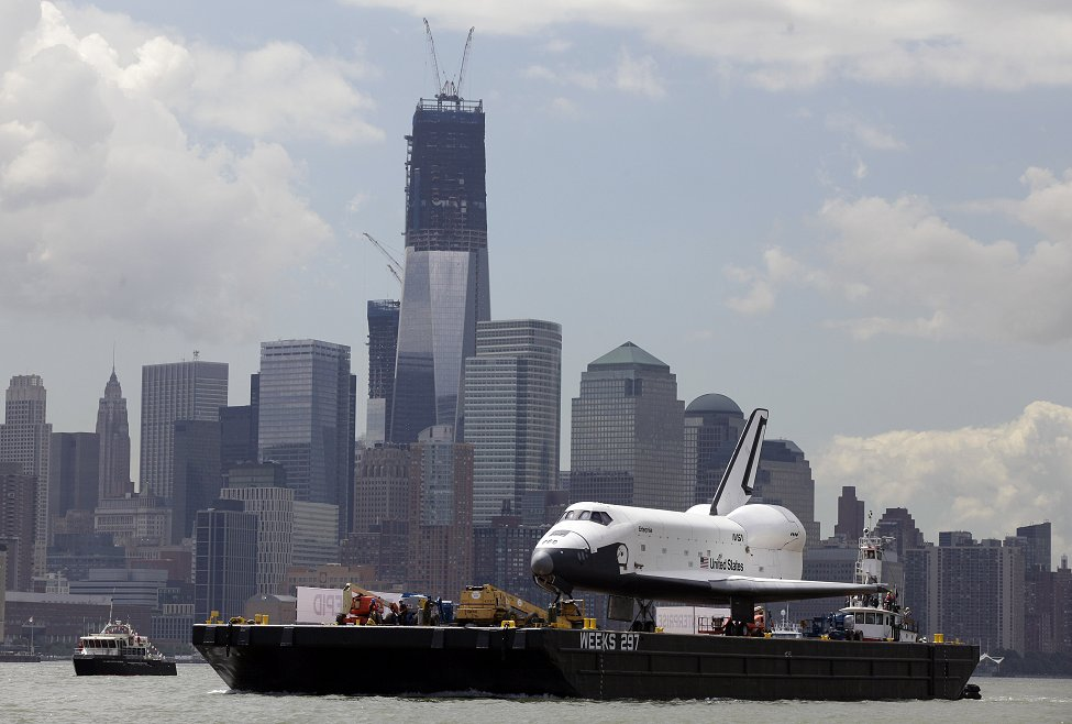Shuttle Enterprise NYC
