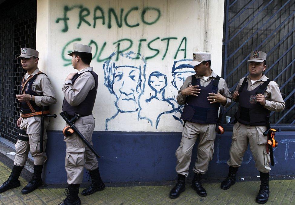 Paraguay Politics Franco