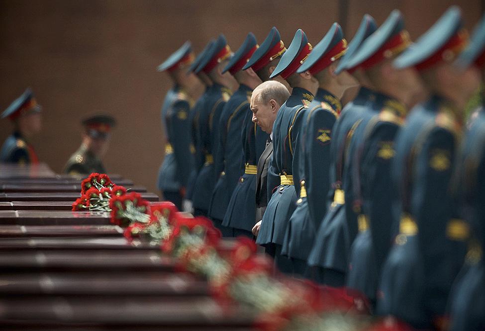 Russia Putin WWII