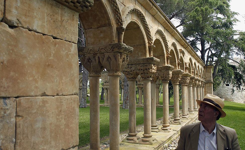Spain Romanesque Cloister
