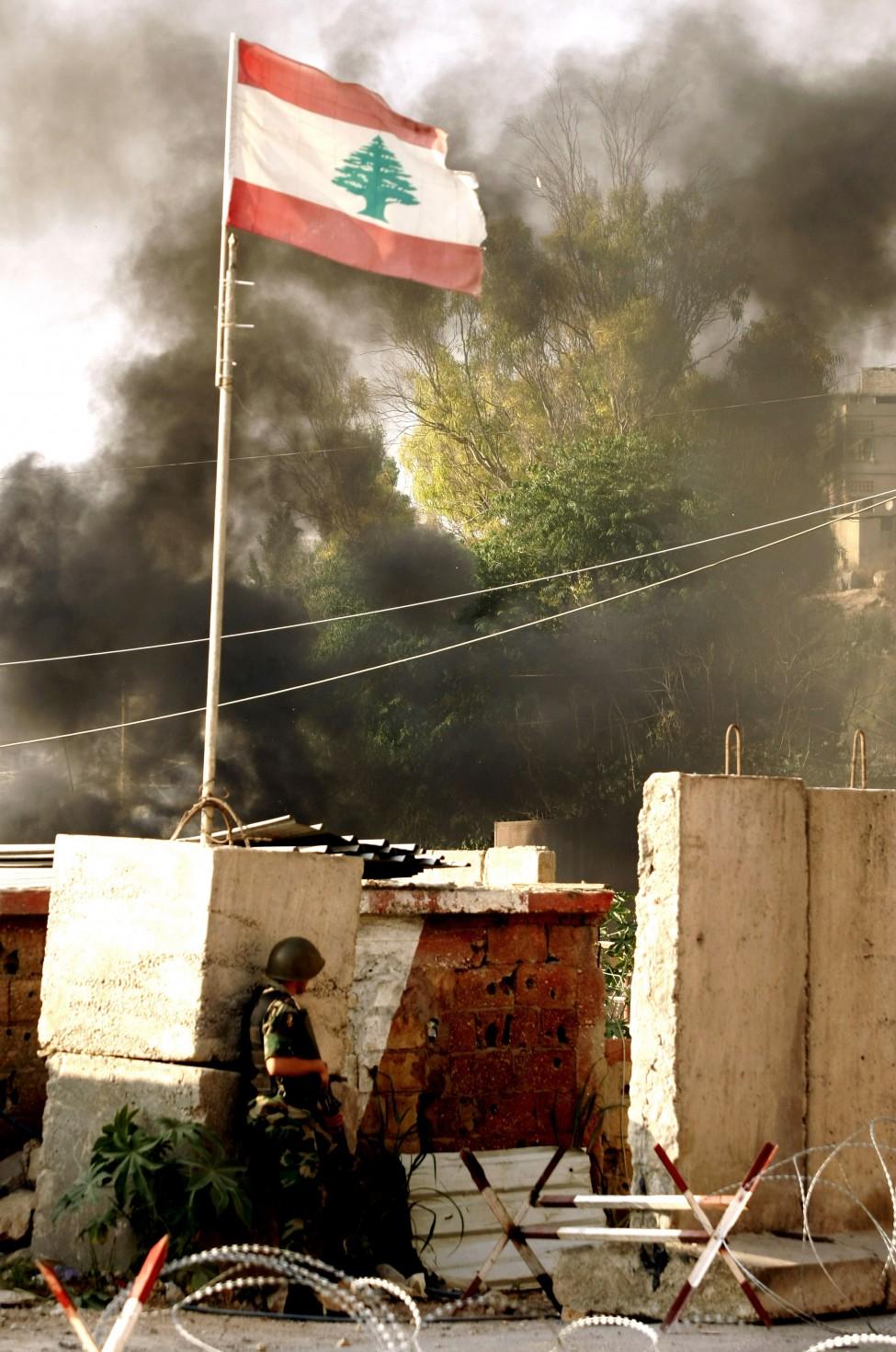 Lebanon Palestinian Unrest