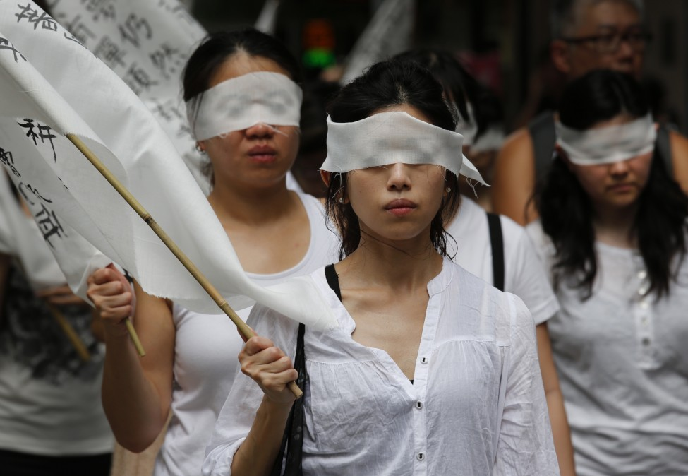 Hong Kong China Activist Death