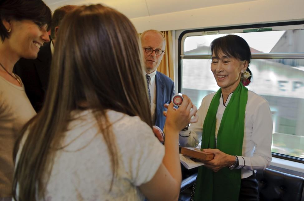 Switzerland Suu Kyi European Tour