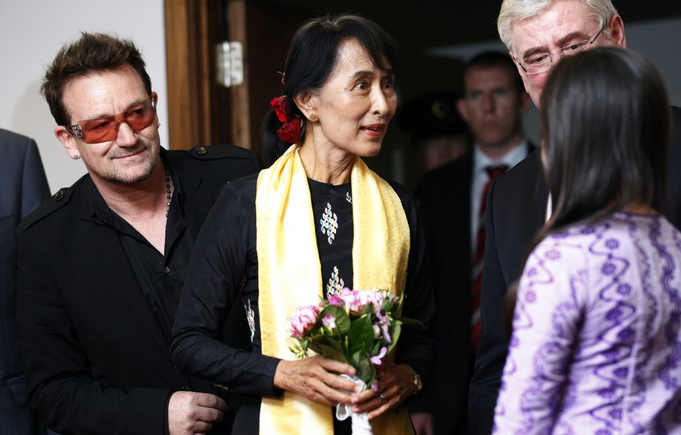 Burma Suu Kyi Europe Tour