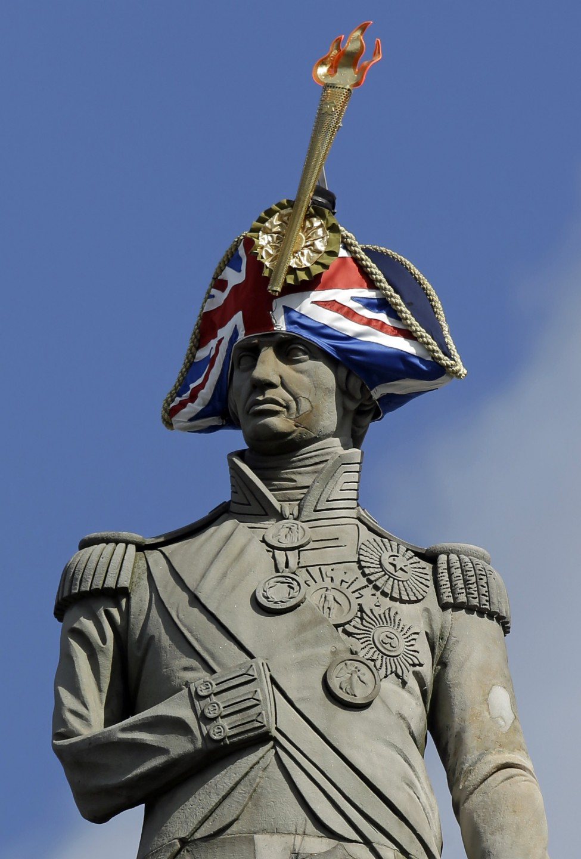 Britain Statue