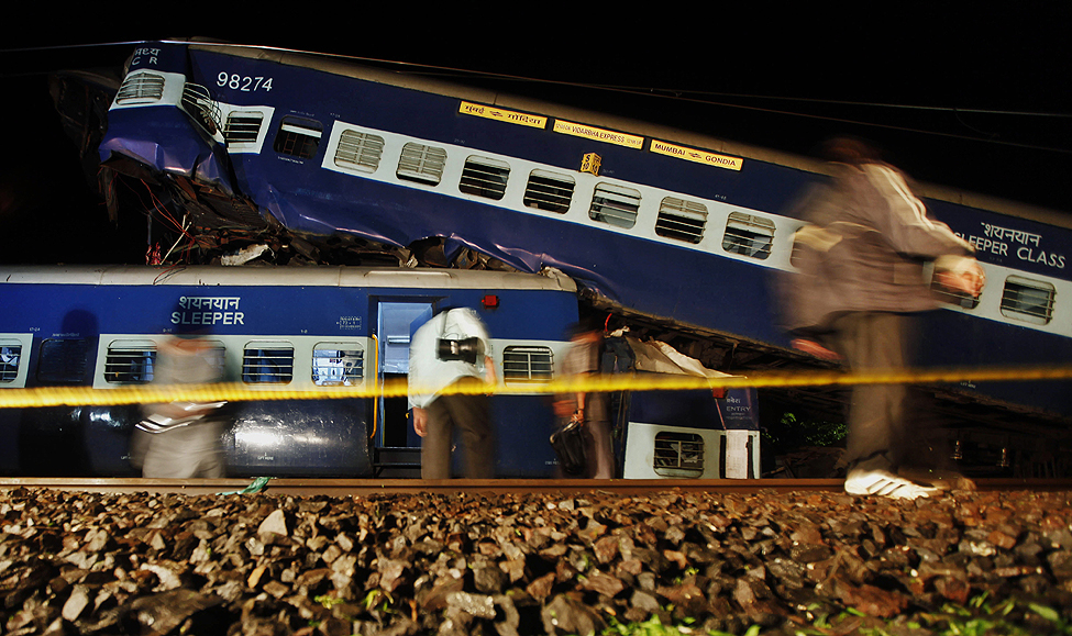 India Train Collision