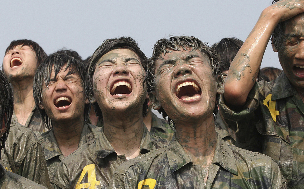 South Korea Military Training