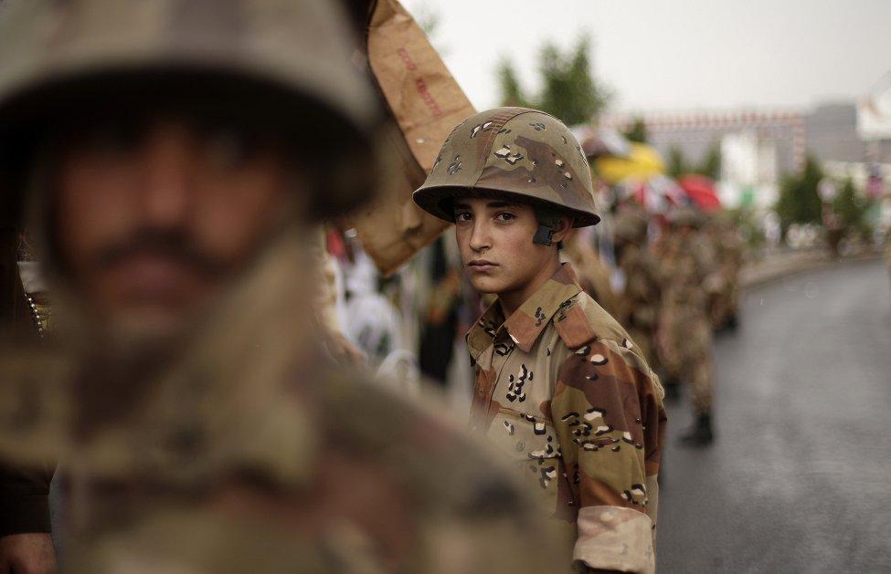 Yemen Young Soldier