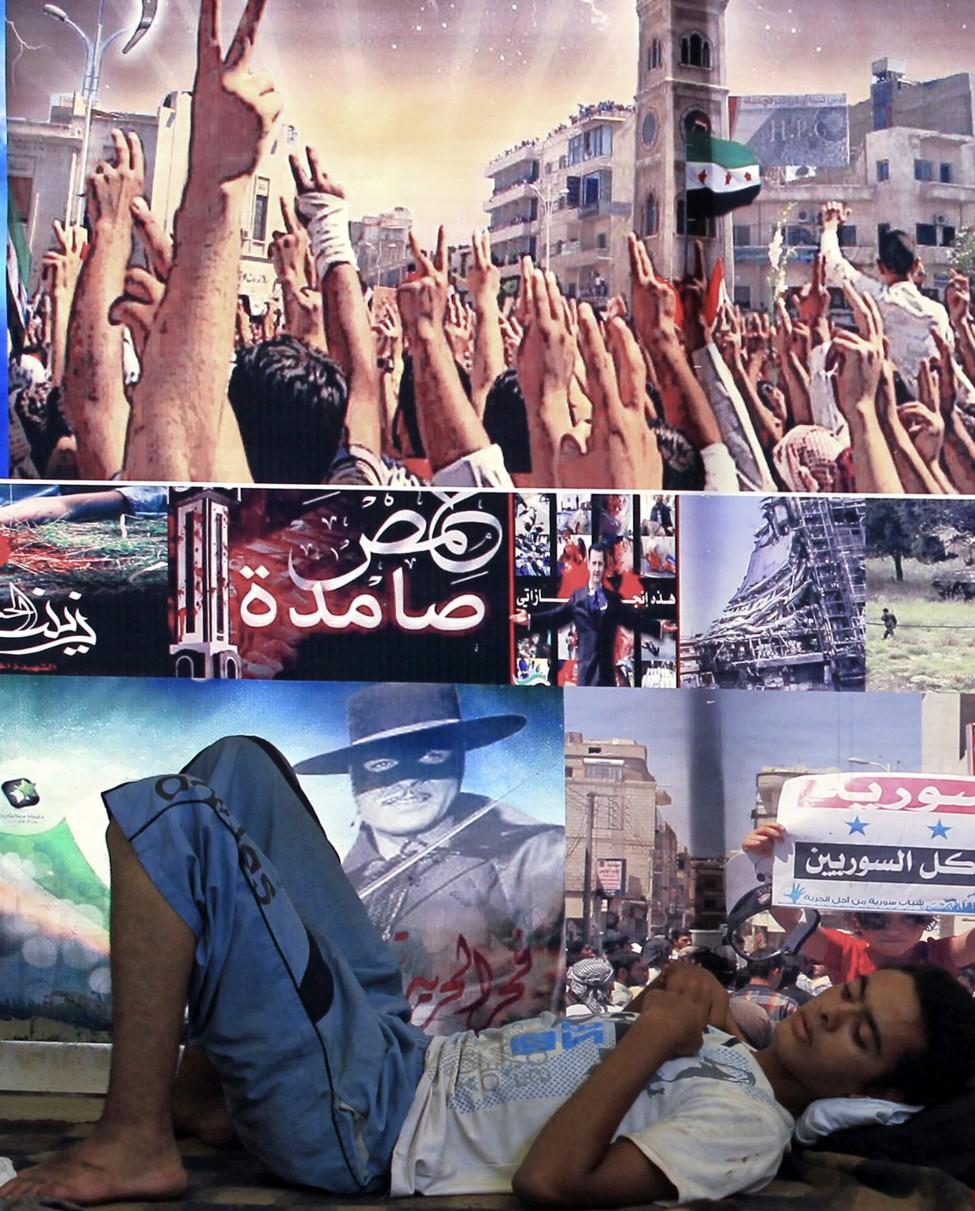 Egypt Syrians