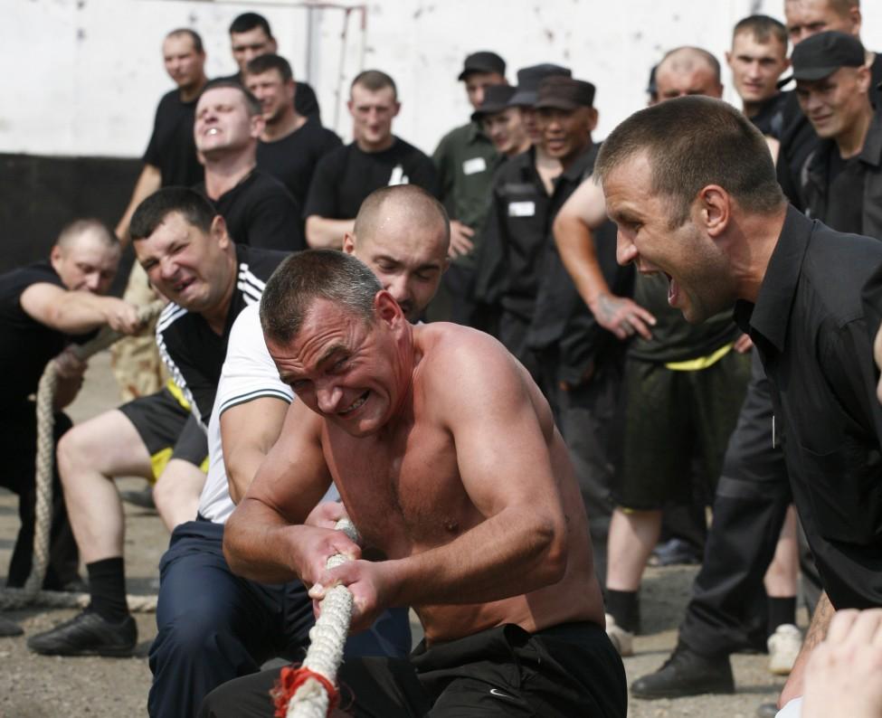 Russian inmates