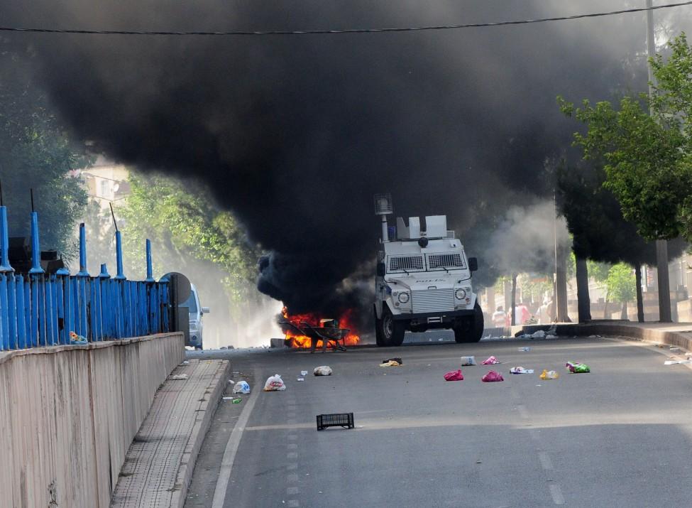 Turkey Kurds Demonstration