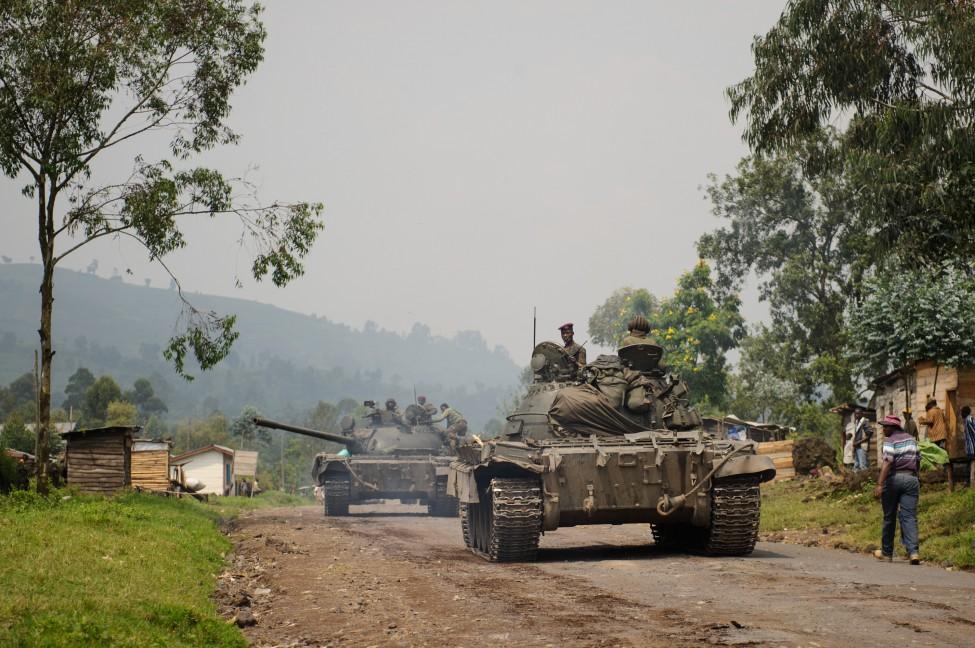 DRC Congo Unrest