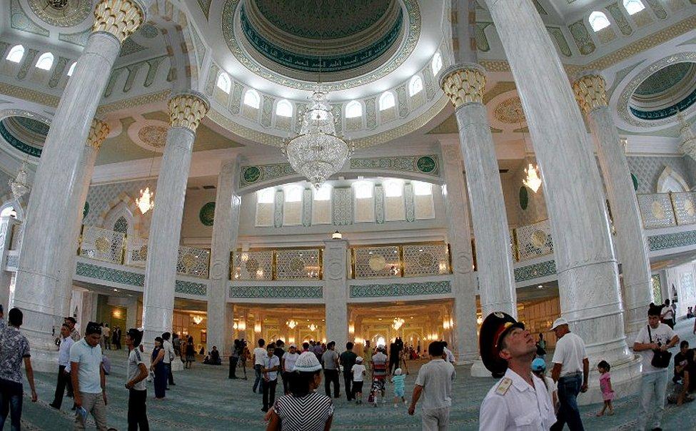 Kazakhstan Mosque Astana