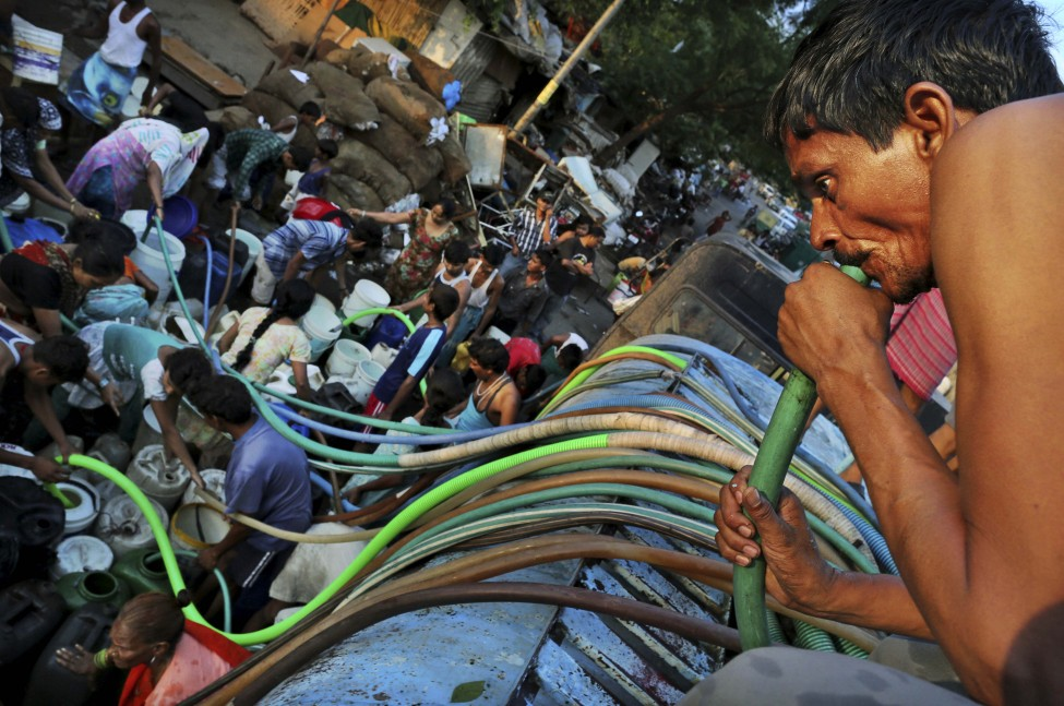 India Water Shortage