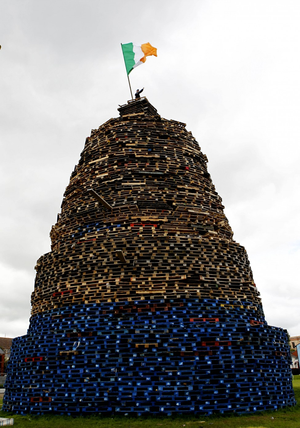 Britain Northern Ireland Bonfires
